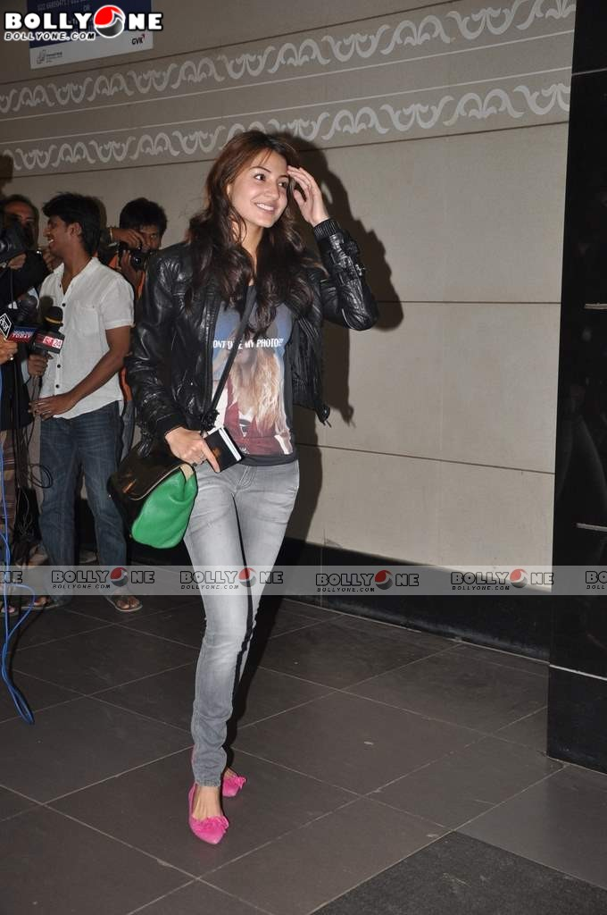 , Anushka Sharma Spotted At Mumbai Airport Leaving For Iifa