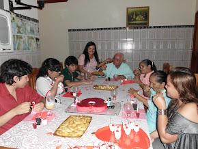 Confraternização das Familias dos Noivos:Alderlan e Josete