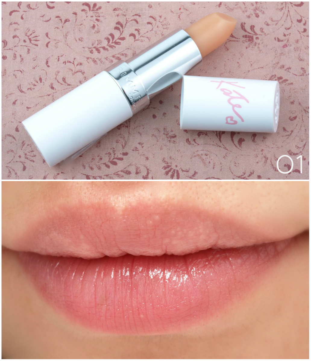 Rimmel London Kate Moss Nude Collection Lipsticks: Review and ...