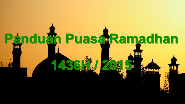 25 Panduan Puasa Ramadhan JAKIM