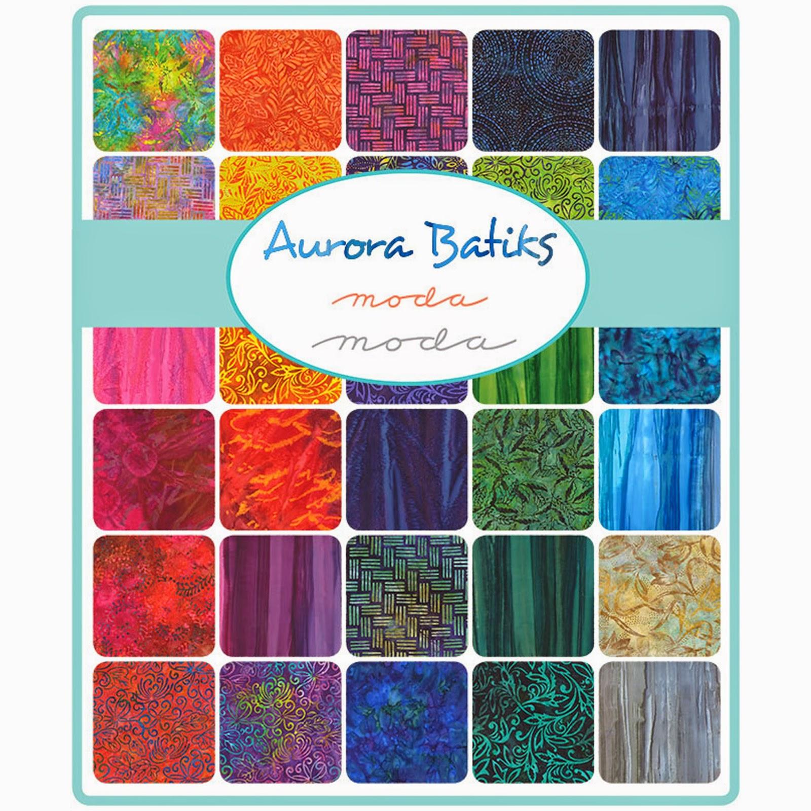 Moda AURORA BATIKS Fabric by Moda Fabrics