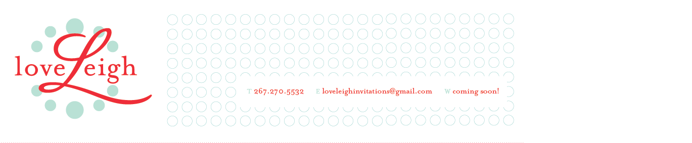 loveleigh invitations
