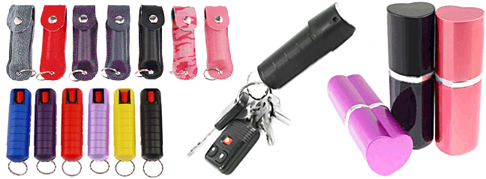 Pepper spray with 18% concentration and UV Dye for personal protection