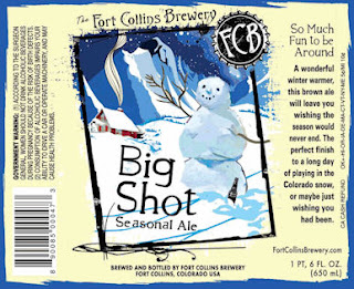Fort Collins Brewery Big Shot Seasonal Ale