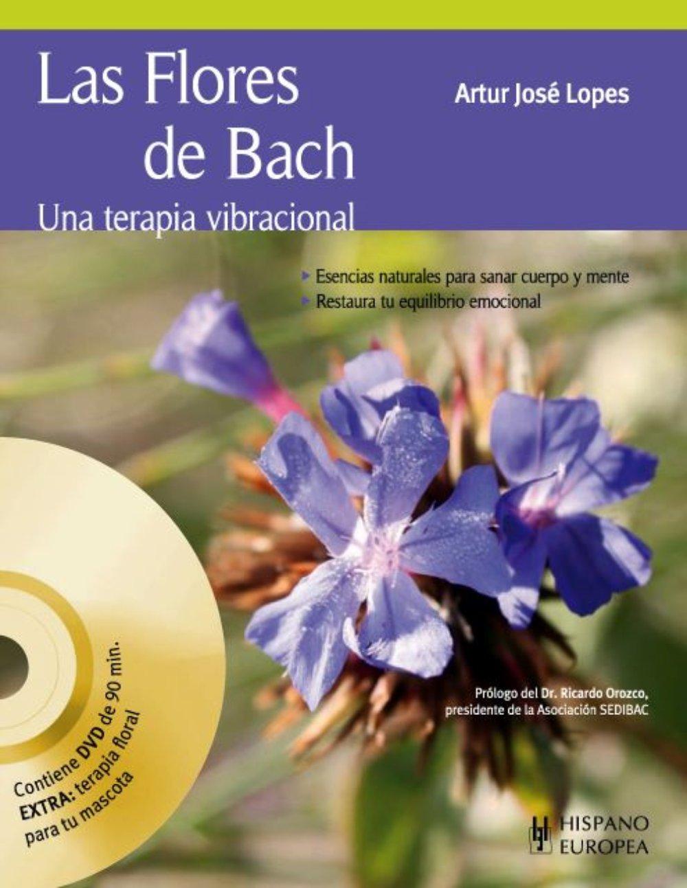 "Libro ""Flores de Bach - Una Terapia Vibracional"""