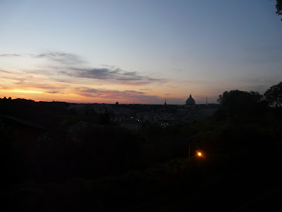 The-sunset-seen-from-the-Gianicolo-Hill-Rome-Italy