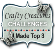 "TOP-3 Crafty Creations op 21-06 2017 (#343) ""Zonsondergang"""