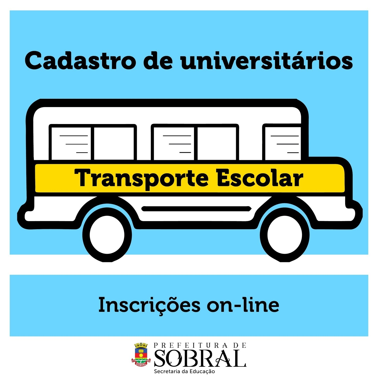 Cadastro no Transporte Escolar
