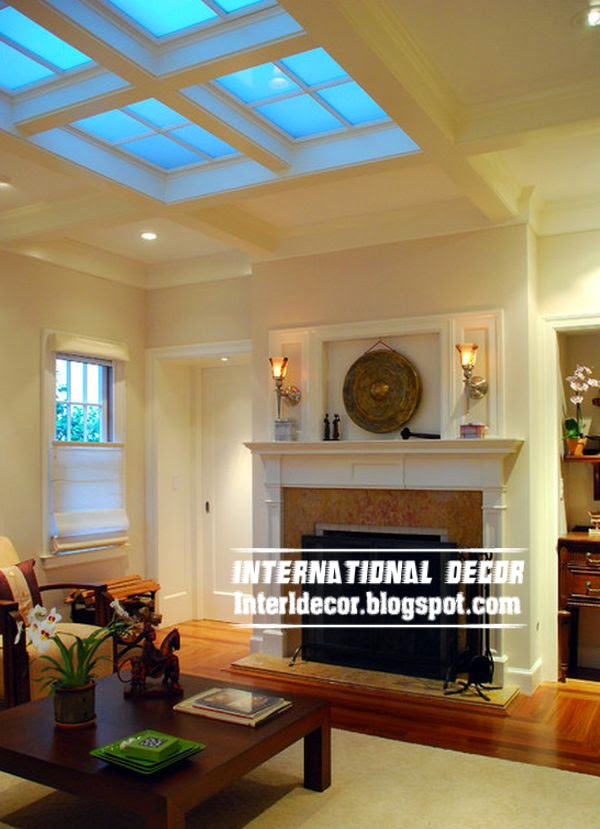 living room skylights or roof windows