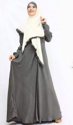 Baju muslim wanita sifon terbaru image
