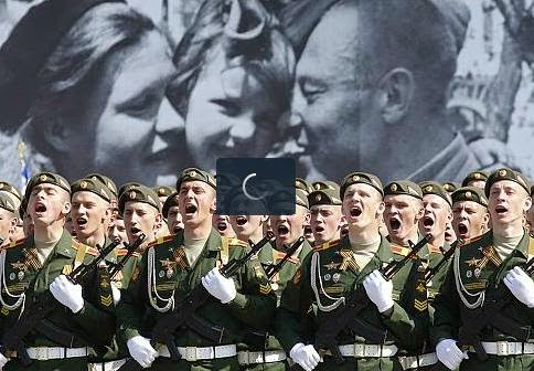 Russia parade on Victory Day
