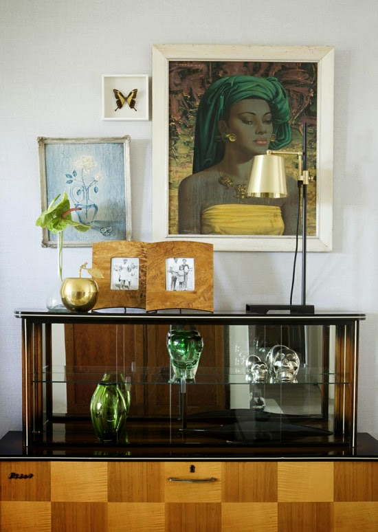 Safari Fusion blog | Tretchikoff [part 2] | Beautiful Sandhurst (Johannesburg) apartment featuring a collection of Tretchikoff prints | Balinese Girl | Interiors by Anatomy Design