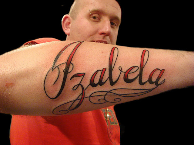 tattoos in names for men