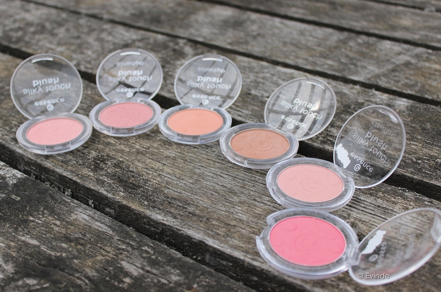 essence silky touch blush all shades