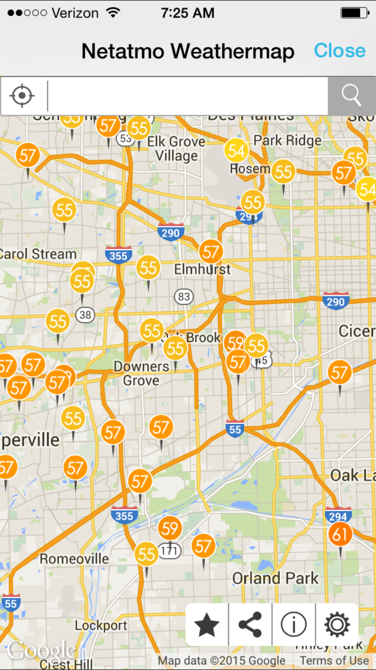 Chicago Boyz  Blog Archive  Use Of Netatmo To Measure Wealth In - Chicago map northwest suburbs