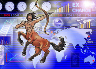 Sun in Sagittarius tends to boost market prices