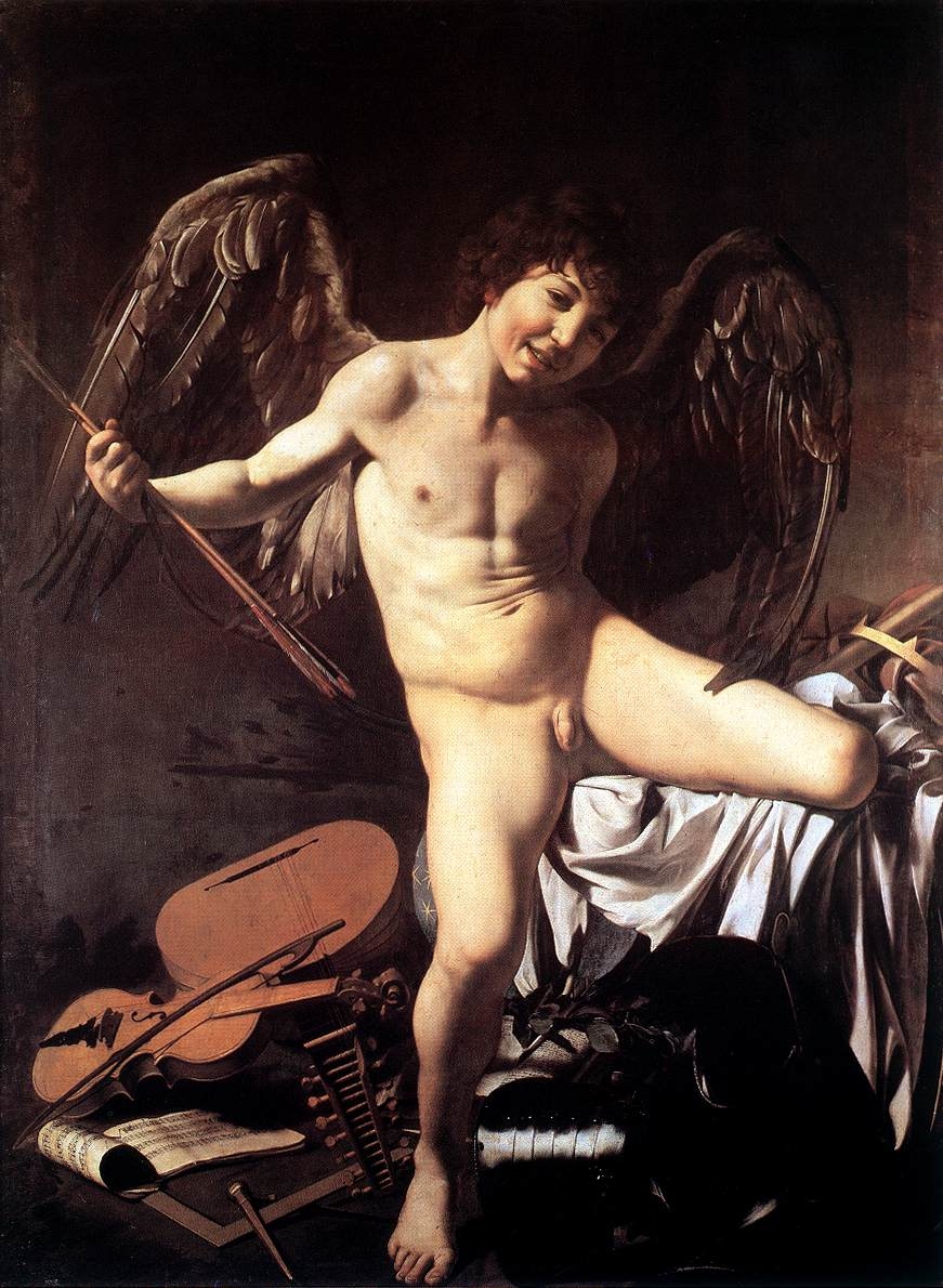 caravage cupid painting
