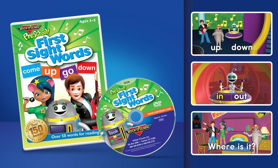 Rock 'N Learn 10 DVD Preschool Pack