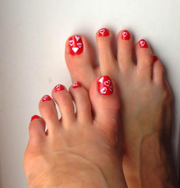 jenn- ic valentines nails