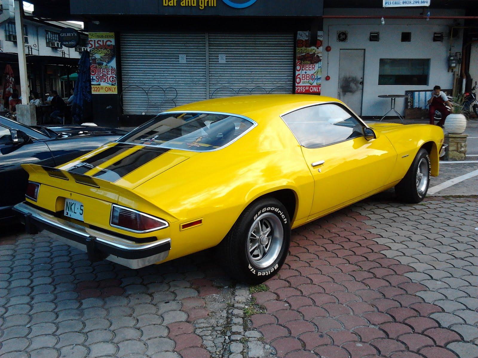 2006 Chevy Camaro >> Parked Cars Manila: 1977 Chevrolet Camaro