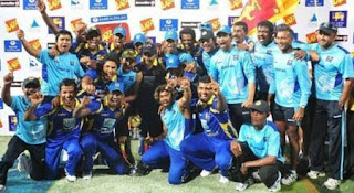 Sri Lanka won the series 3-1