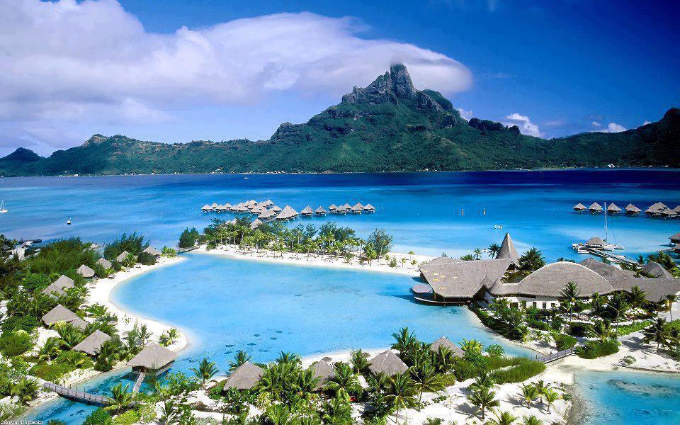 Ishujt Magjik Bora Bora Beautiful Photo