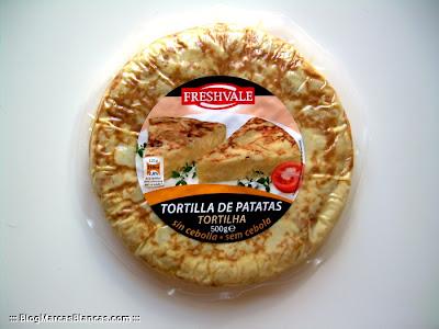 Tortilla de patatas sin cebolla Freshvale de Lidl.