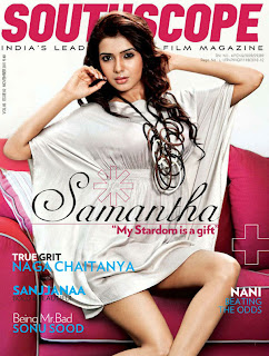 Samantha Ruth Prabhu sizzling Pictures for Sohtscope Magazine Pictureshoot 2012