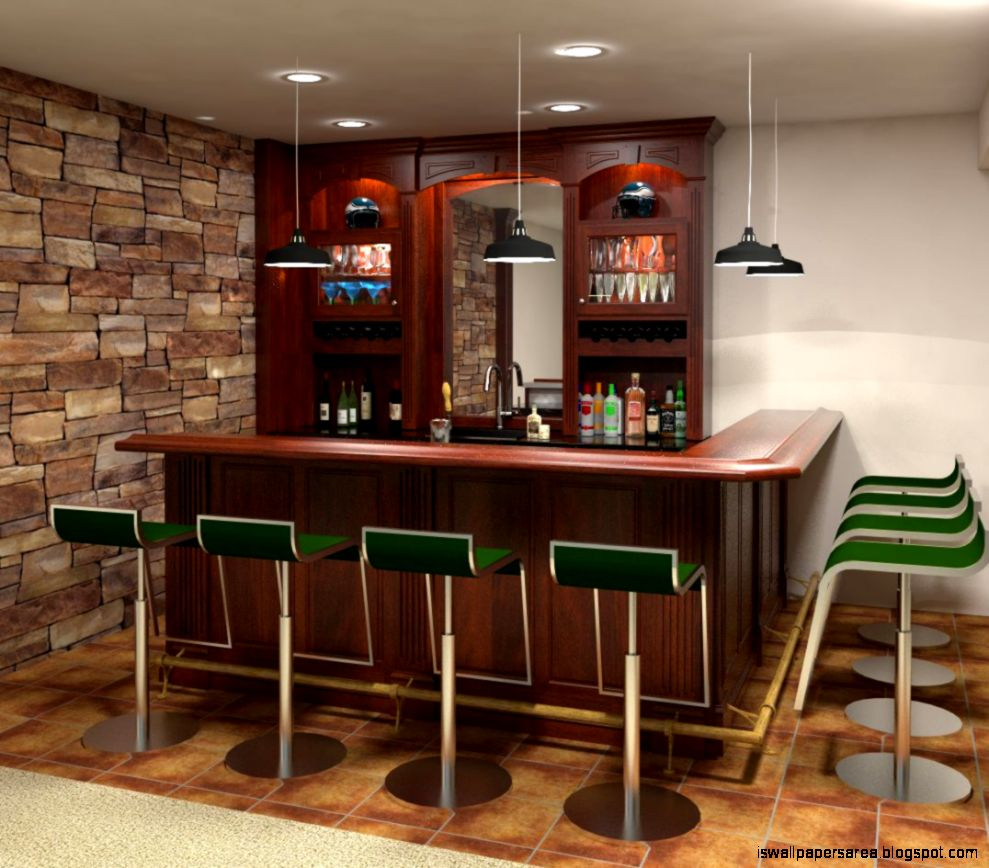 Custom design home bars wallpapers area Custom design home
