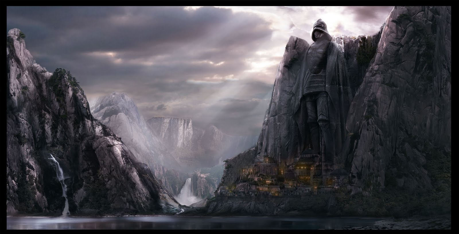 My portfolio matte painting for Matte painting