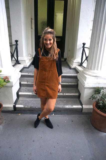 chloeschlothes - salopette robe topshop marron