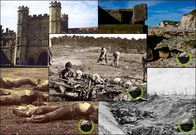 10 Bekas Medan Perang yang paling Angker di Dunia