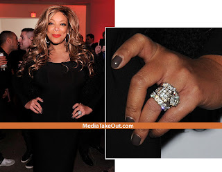 Wendy Williams' wedding ring? Here's an excerpt from the LA Times