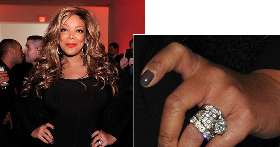 wendy williams wedding ring - Wendy Williams Wedding Ring
