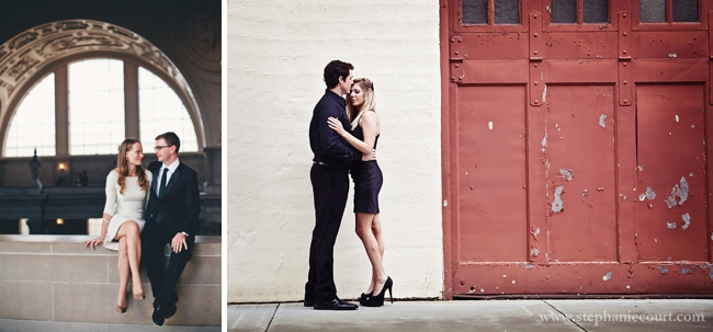 """San Francisco City Hall engagement wedding photos"""