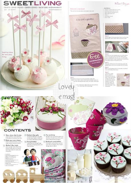 Sweet living magazine home shabby home arredamento for Riviste on line arredamento
