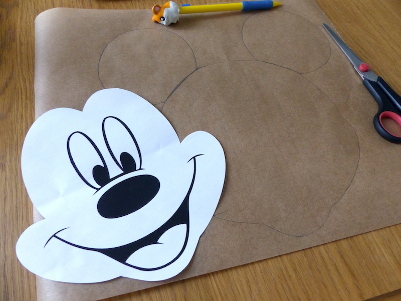 Assez Gâteau Mickey au chocolat! | Recettes pour mon bentô XT02