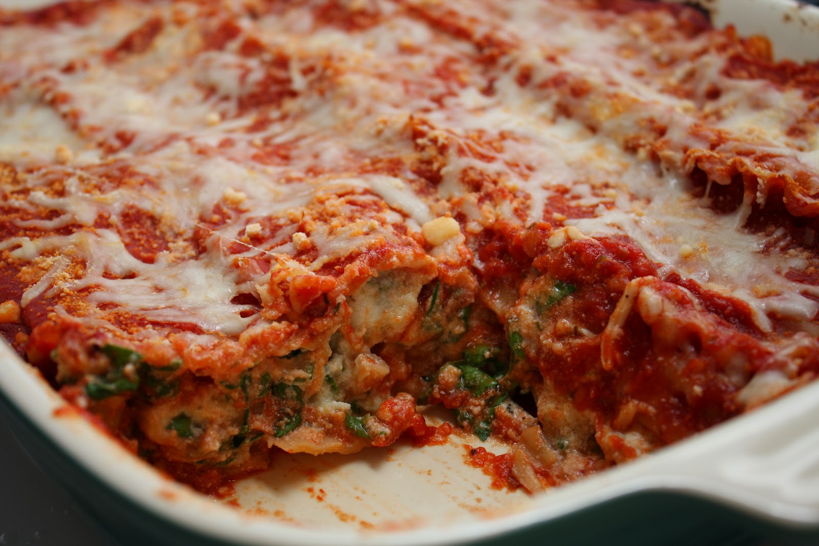 Smart Eats & Smart Sweets: Spinach Lasagna