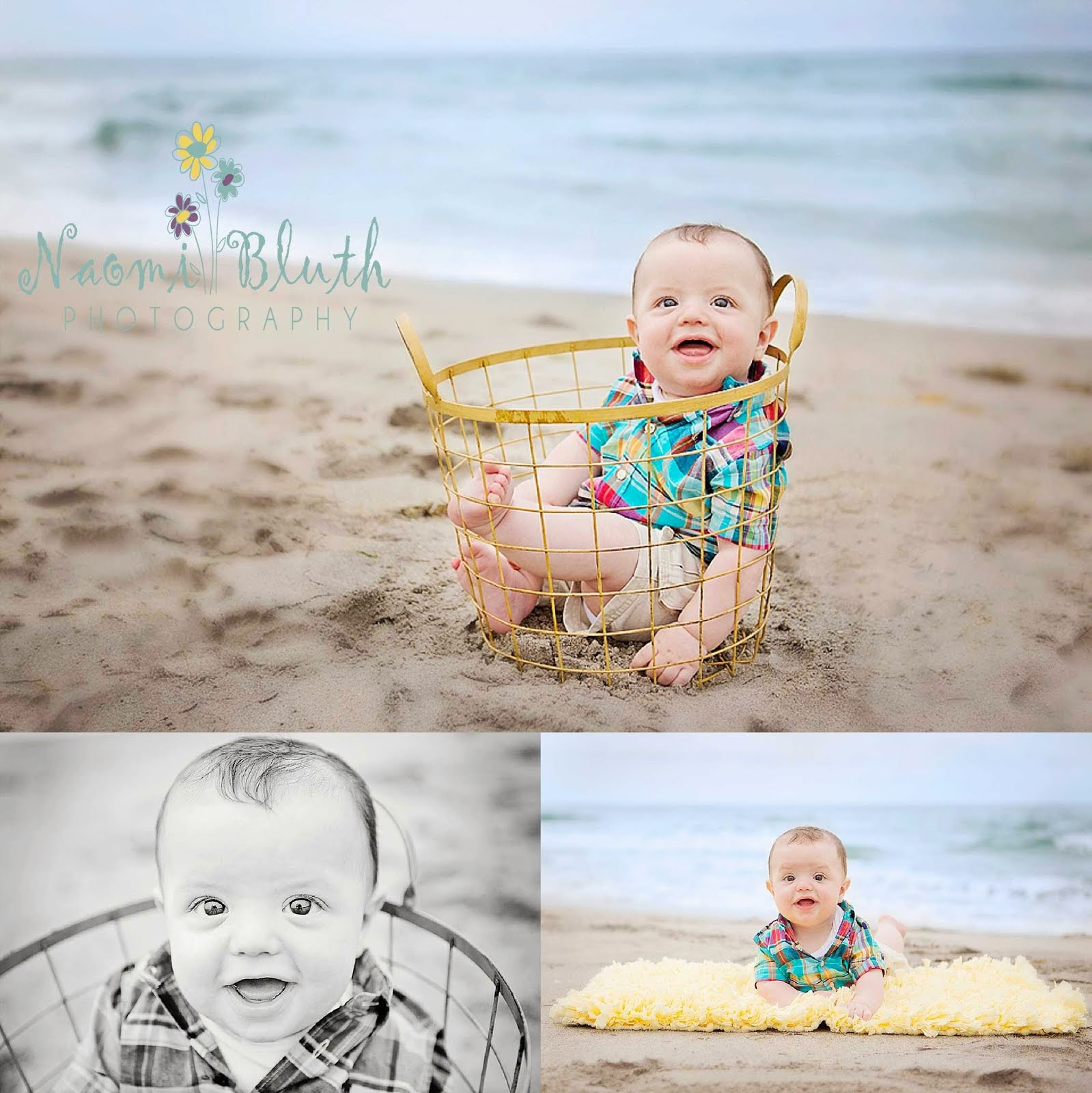 Boca raton family beach photographer south florida beach baby photographer 6 month old portraits lentino family