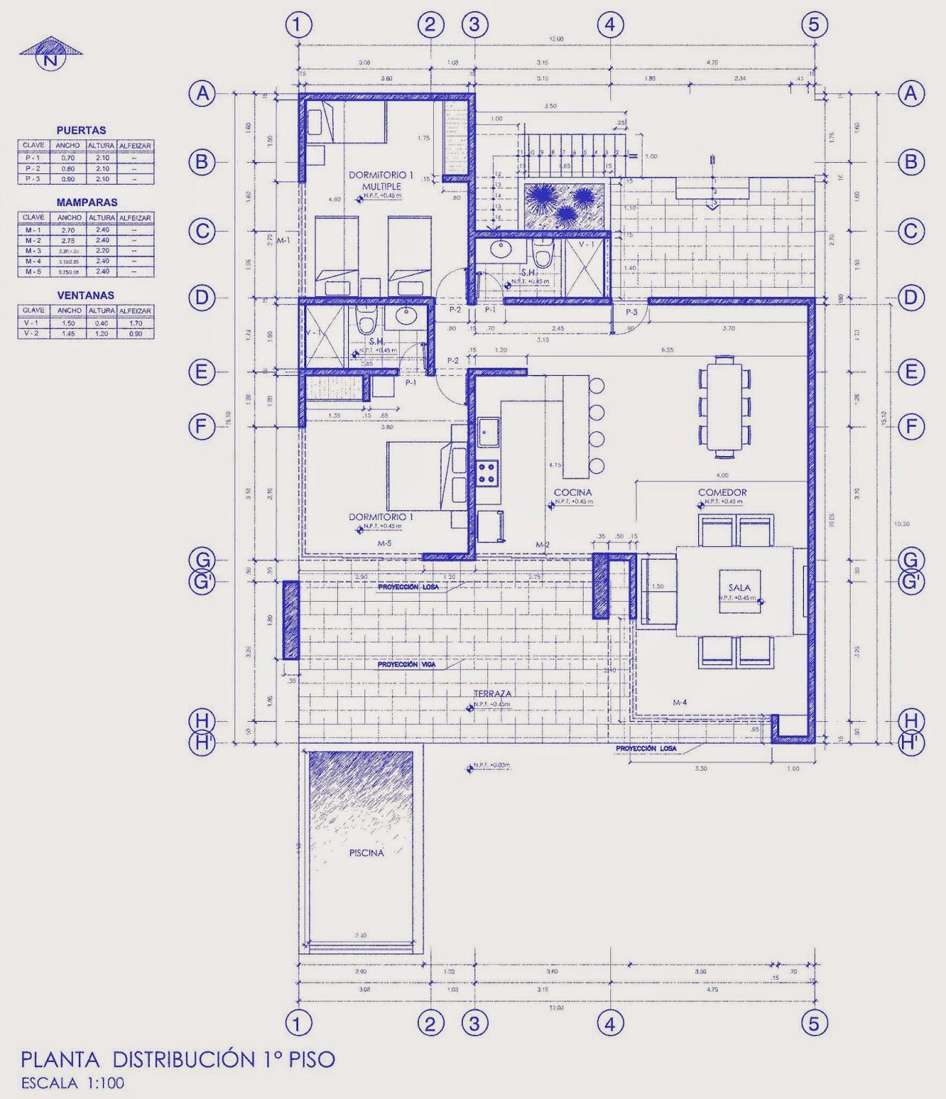 Autocad tutoriales tips y trucos planos y bloques - Cad casa gratis ...