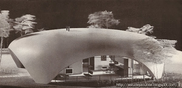 Hobe Sound - Florida - Bubble houses  Architecte: Eliot Noyes  Construction:  1954