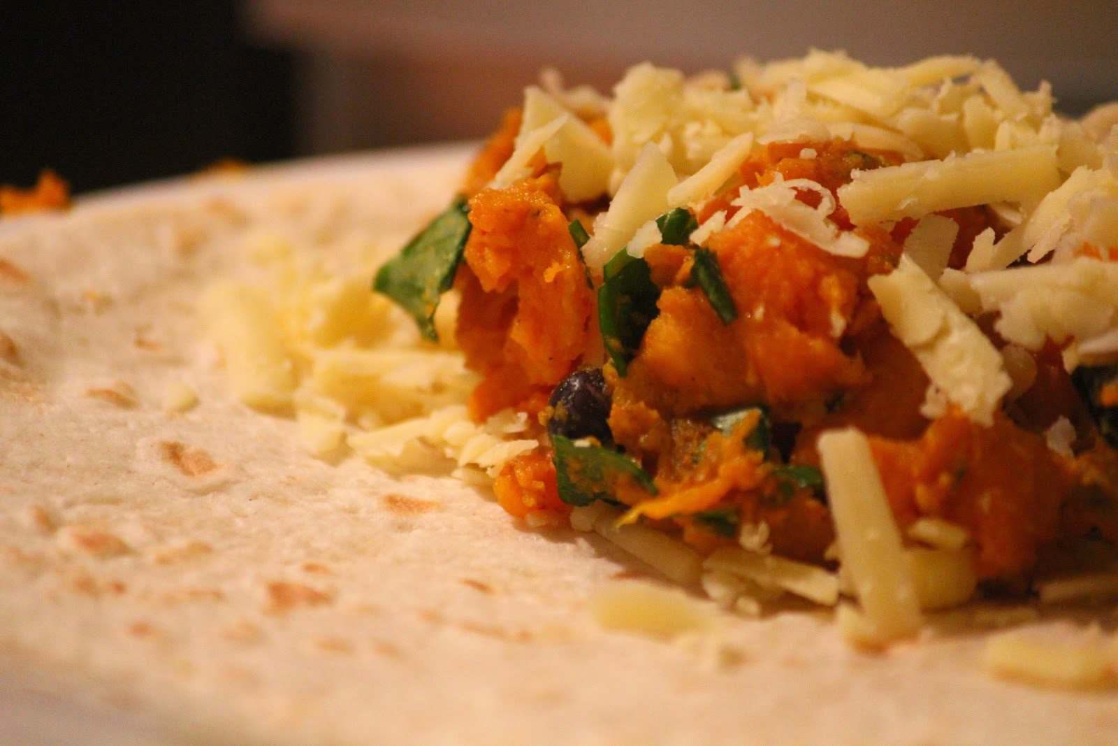 and then I cooked...: Curried Sweet Potato Quesadillas