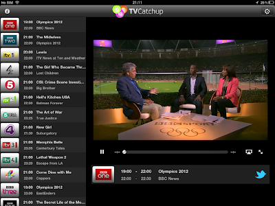 TVCatchup iPhone / iPad App Review