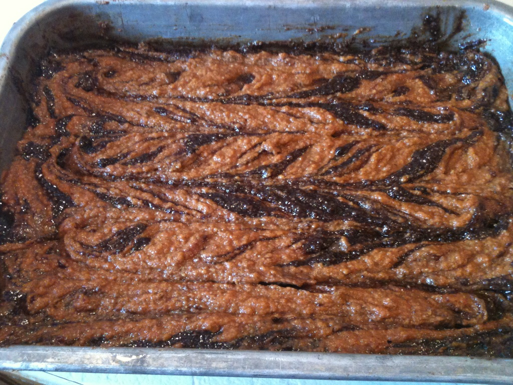 3.2.1. Paleo: Pumpkin Swirl Paleo Brownies
