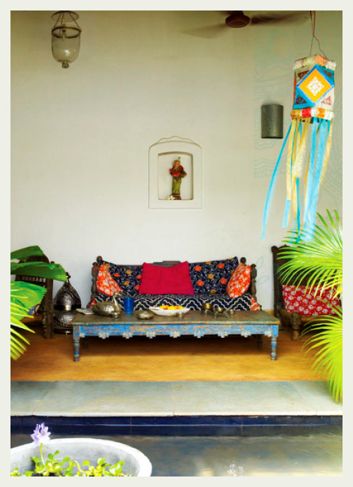 An indian summer aao goa chalen for Architecture design for home in goa