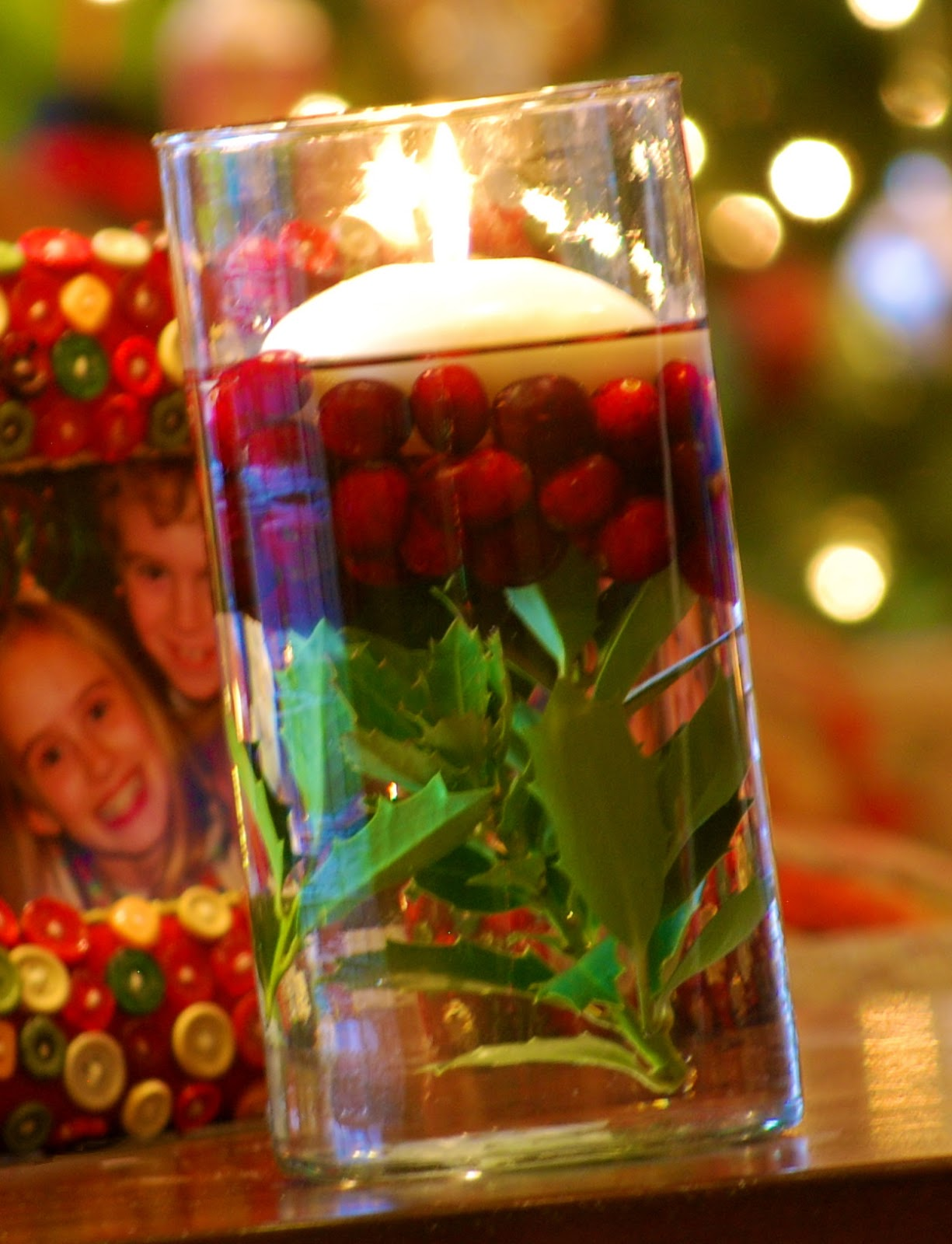Candle Christmas Centerpiece : Christmas decorating with natural elements amanda jane brown