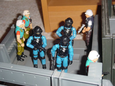 1992 DEF Shockwave, 1987 LAW, 2000 ARAHC Law, G.I. Joe HQ, 1983