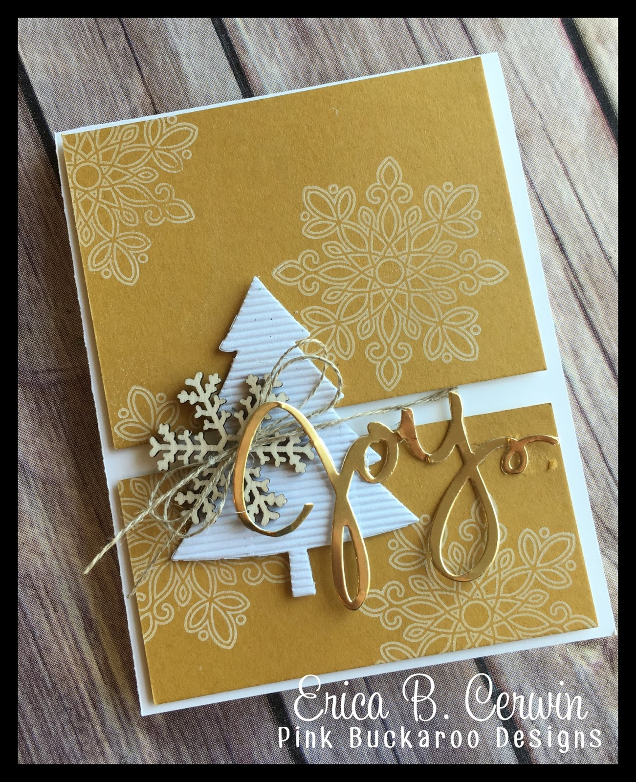 Pink Buckaroo Designs: In Color Christmas Card Video
