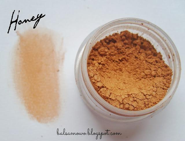 Annabelle Mineral róż kolor Honey