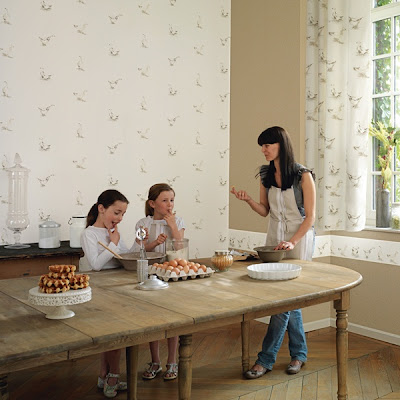 Papel pintado febrero 2012 - Papeles pintados cocinas ...